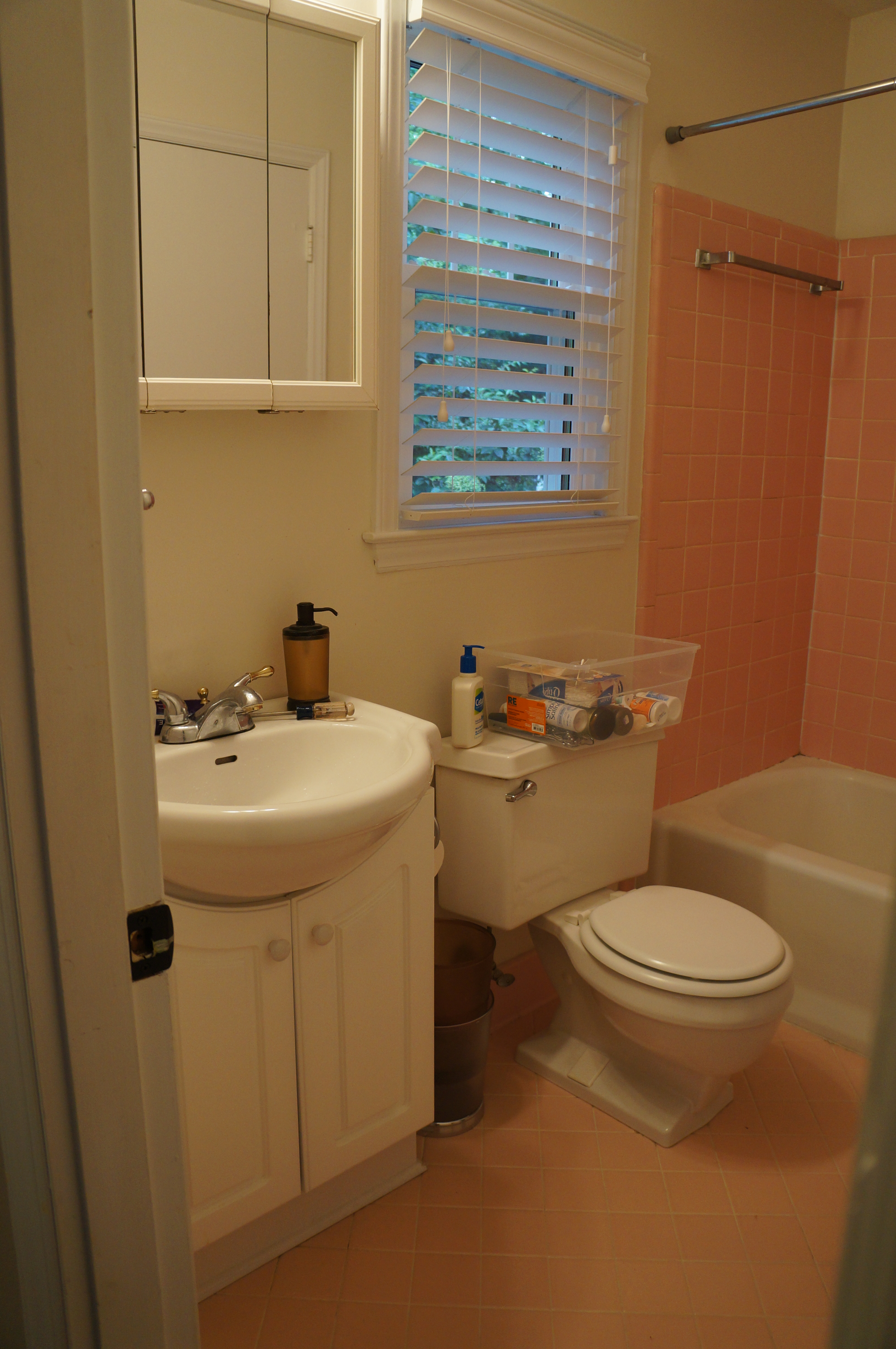Pink Tile Bathroom Remodel Viewing Gallery